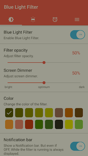 sFilter - Blue Light Filter