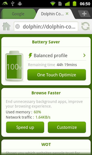 Dolphin Battery Saver for LeEco Le 2 - free download APK file for Le 2