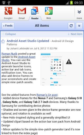 GApps Sandboxed Browser for Samsung P6800 Galaxy Tab 7 7