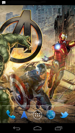 Marvel Avengers Live Wallpaper for oppo A3 - free download APK file