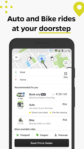 Ola cabs - Book taxi in India