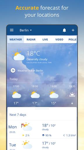 wetter.com - Weather and Radar
