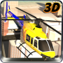 icon City Helicopter Flight Sim 3D