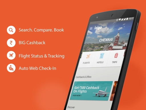 Free download ixigo - Flight Booking App APK for Android
