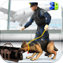 icon Police Dog Airport Crime City