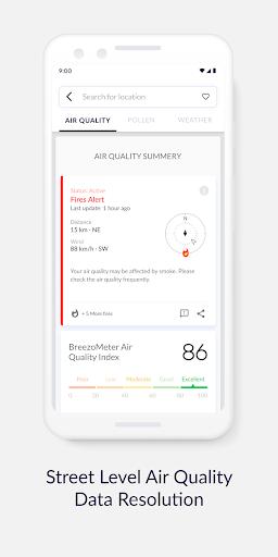 Air Quality Index BreezoMeter