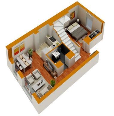 3D Small Home Design
