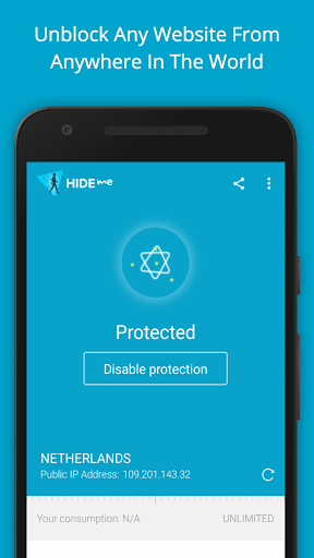hide me VPN for oppo A83 - free download APK file for A83