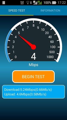 Internet Speed Test Meter