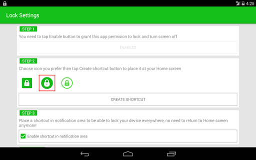 Turn Off Screen (Lock Screen) for Oppo F3 - free download