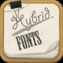icon Hybrid Fonts