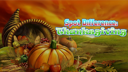 Spot Difference : Thanksgiving