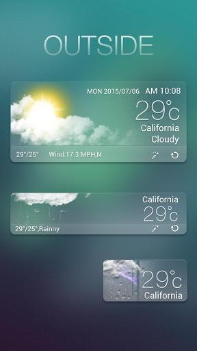 Outside GO Weather Widget