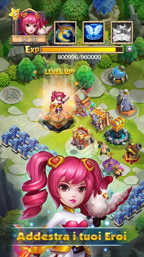 Free download Castle Clash: Squadre Valorose APK for Android