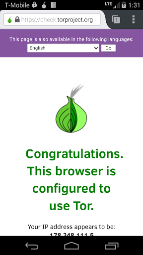 Orfox: Tor Browser for Android for Meizu M6 Note - free download APK