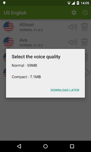 Free download Vocalizer TTS Voice (English) APK for Android