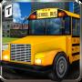 icon School Bus Driving 3D