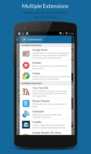 News+   Google News RSS Reader