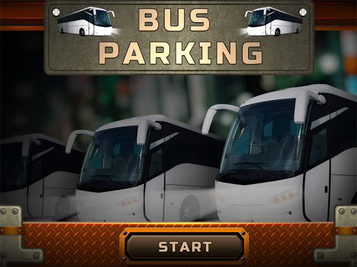 City bus parking 3D
