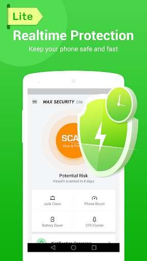 Virus Cleaner - Antivirus, Booster (MAX Security) for Tecno i5 Pro