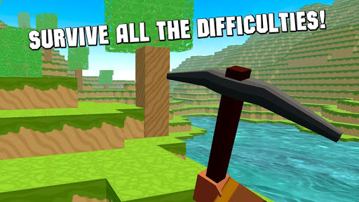 Cube World Survival Simulator