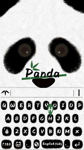 Panda Emoji iKeyboard Theme