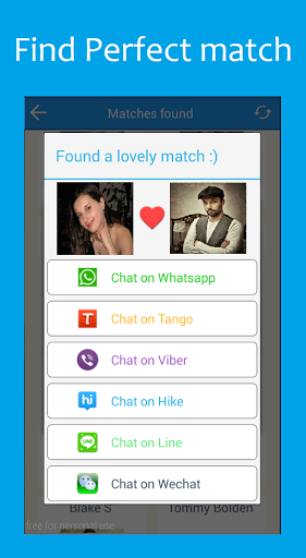 Friends for Tango Chat for Samsung Galaxy Note7 - free download APK