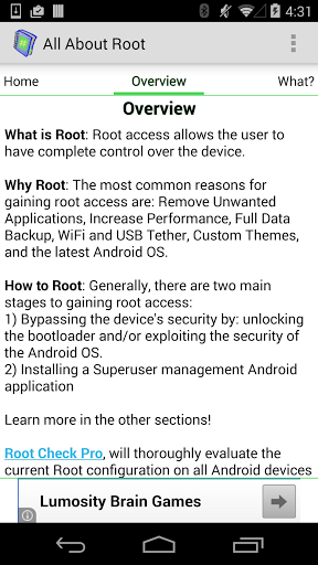 Root for Android - All About
