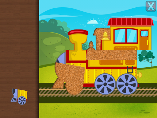 Trains Jigsaw Puzzles for Kids