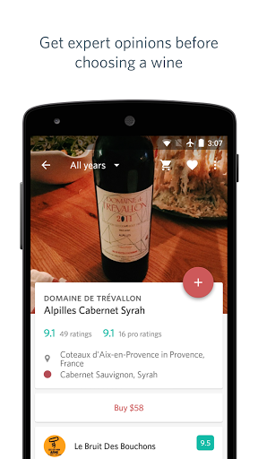Delectable Wine - Scan & Rate