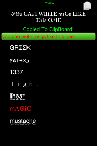 Hybrid Fonts - Font FX Maker