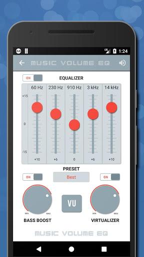 Music Volume EQ + Bass Booster for Samsung Galaxy S7 Edge - free