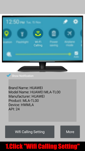 Wifi Calling for Huawei Mate 9 - free download APK file for Mate 9