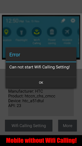 Wifi Calling for Meizu m5 - free download APK file for m5
