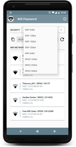 WIFI PASSWORD for Huawei Y7 Prime - free download APK file