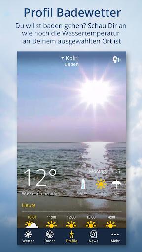 Wetter.de - Regenradar more