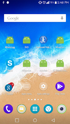 M9 launcher and theme for Tecno i7 - free download APK file