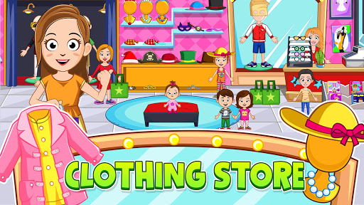 My Town : Stores. Fashion Dress up Girls Game