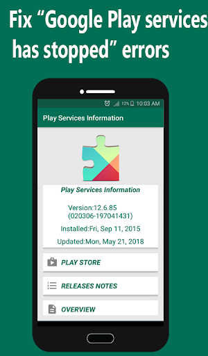Play store & Play Services Information