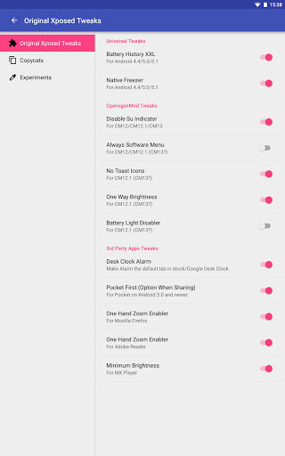 All My    (Xposed Tweaks) for Samsung Galaxy Tab4 7 0 - free