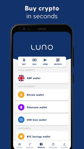 Luno Bitcoin Wallet