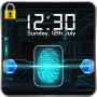 icon Fingerprint Lock Screen