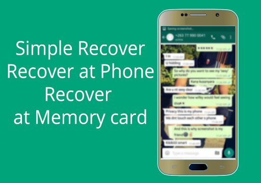 watsup recovery files