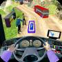 icon Modern Bus : Drive Parking 3D
