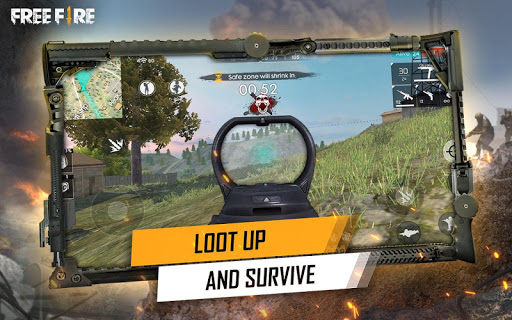 Free Fire - Battlegrounds for Samsung Galaxy J1 Ace - free download