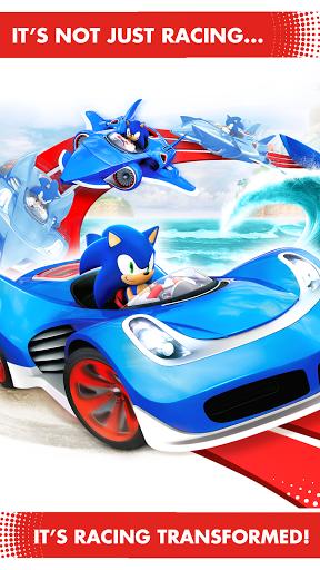 sonic all stars racing transformed apk + sd mega