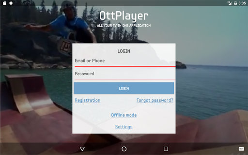 Free download OttPlayer APK for Android