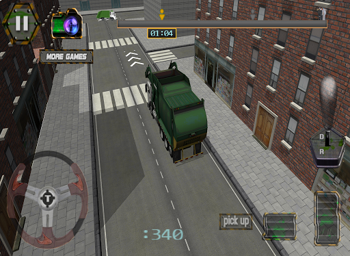 Heavy Garbage Truck City 2015