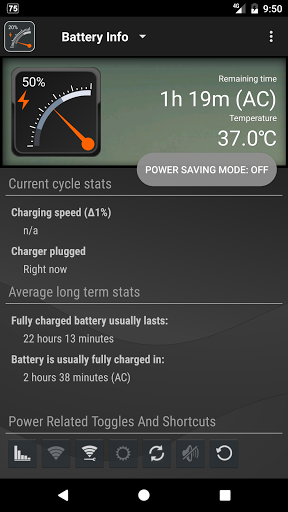 Gauge Battery Widget 2017