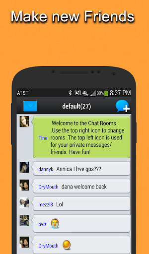 Live Chat Rooms for ASUS ZenFone Max Pro (M1) - free download APK